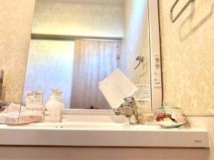 美容室アリエッテイの洗面所